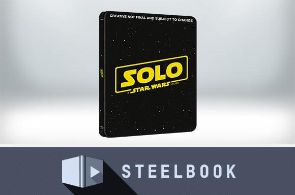 HAN SOLO: UNA HISTORIA DE STAR WARS <br> STEELBOOK EDICIÓN LIMITADA 3D