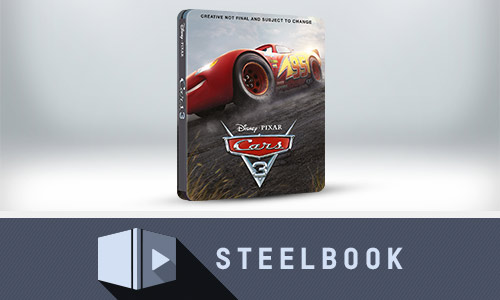 CARS 3 - STEELBOOK EXCLUSIVO DE EDICIÓN LIMITADA