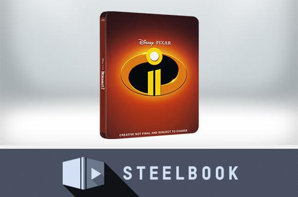 STEELBOOK 3D LOS INCREÍBLES 2