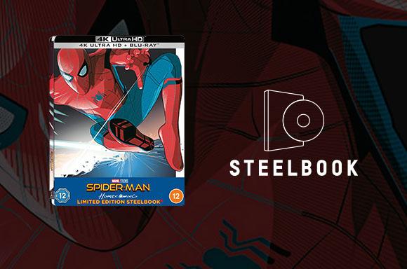 Steelbook x2 lenticular Spider-Man Homecoming