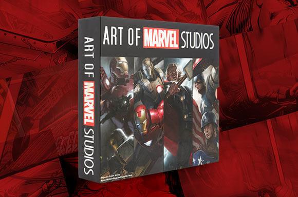 CAMISETA & ART OF MARVEL STUDIOS = 22,99 €