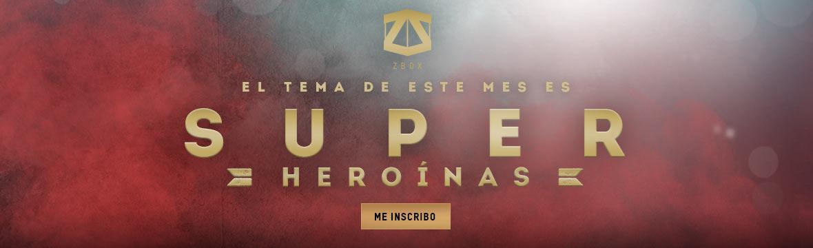 ZBOX SUPERHEROINAS