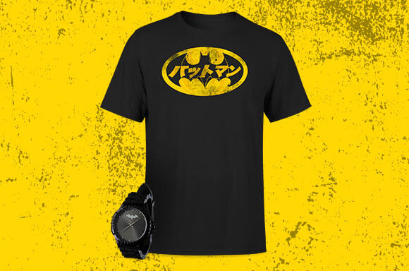 PACK RELOJ & CAMISETA BATMAN