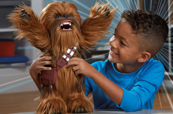 CHEWBACCA STAR WARS FURREAL FRIENDS