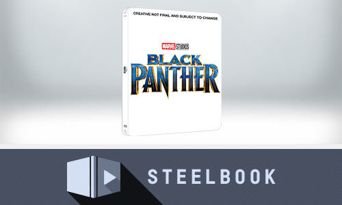 BLACK PANTHER (3D + VERSIÓN 2D) STEELBOOK ED. LIMITADA EXCLUSIVO DE ZAVVI UK