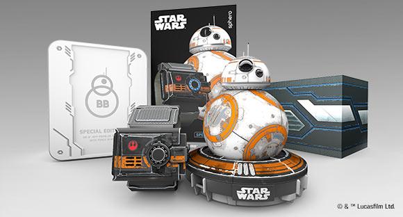 NUEVO SPHERO BB-8 CON FORCE BAND