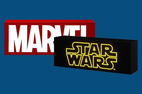 -10% sur les lightbox Marvel & Star Wars