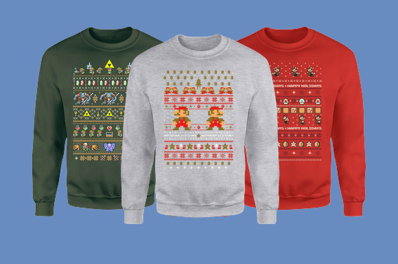 Nintendo Xmas Jumpers!