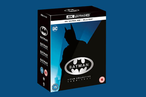 COFFRET 4K BATMAN (1989 - 1997)