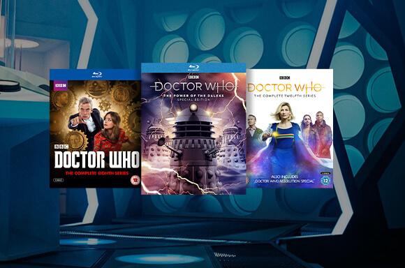 25% de Réduction sur les Blu-Ray & DVD Doctor Who