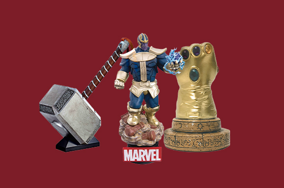Réductions Objets de Collection Marvel