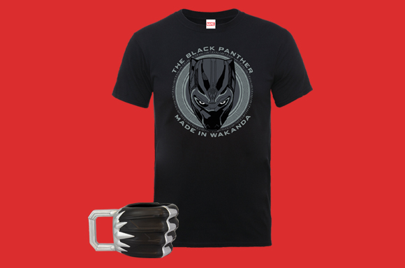 T-SHIRT ET MUG BLACK PANTHER