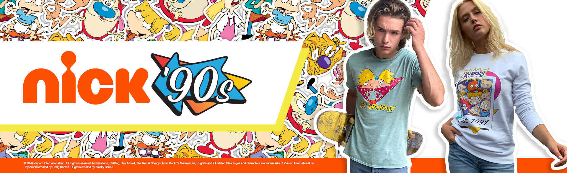 COLLECTION NICK 90'S