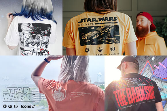 VETEMENTS STAR WARS ICONS