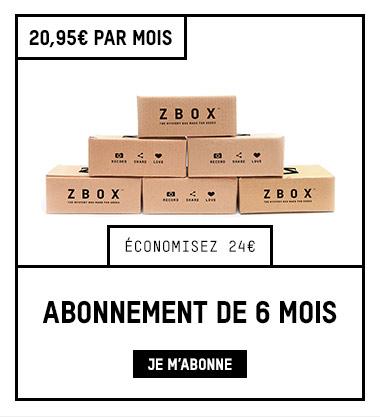 ABONNEMENT ZBOX 6 MOIS