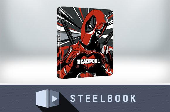 Deadpool - Steelbook 4K UHD Exclusivité Zavvi