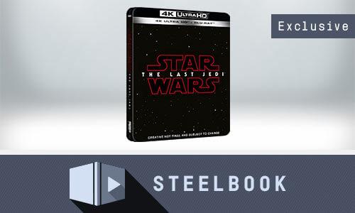 STAR WARS: LES DERNIERS JEDI - STEELBOOK 4K UHD