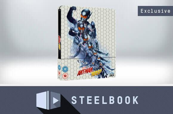 ANT-MAN ET LA GUÊPE 3D STEELBOOK EN ÉDITION LIMITÉE  (AVEC 2D VERSION)