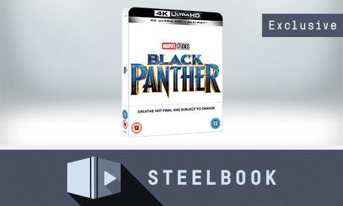 STEELBOOK BLACK PANTHER 4K + BLU-RAY