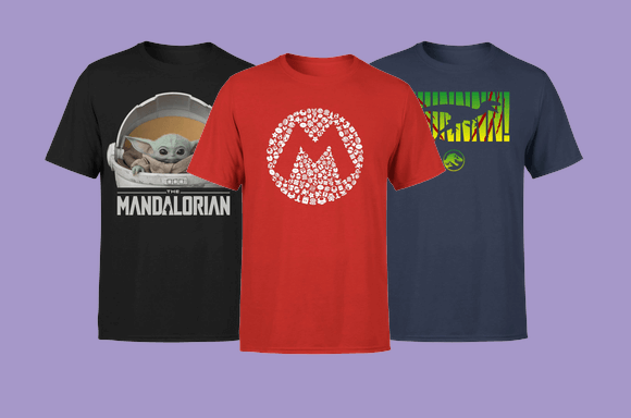 Pack de 2 Camisetas Frikis