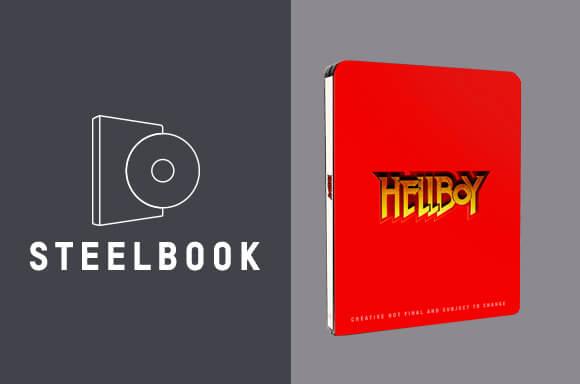 LOT STEELBOOK HELLBOY 4K