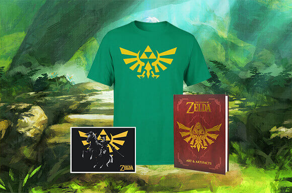 ENCYCLOPÉDIE & T-SHIRT ZELDA