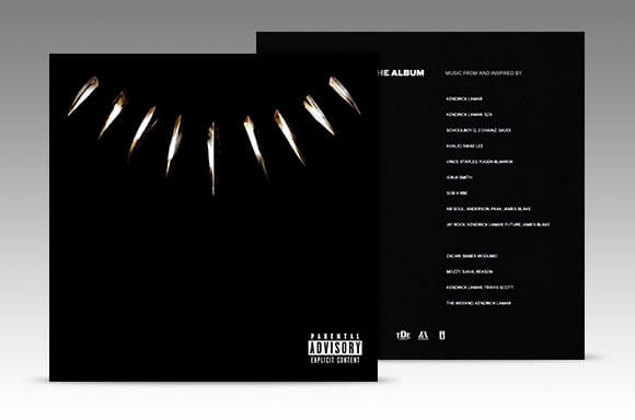 BLACK PANTHER - THE ALBUM (CD)