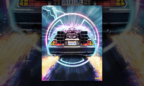 BACK TO THE FUTURE - OUTATIME