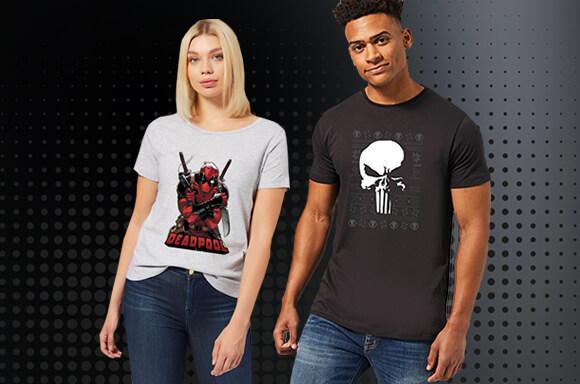 2 T-Shirts GEEK pour 28,99€