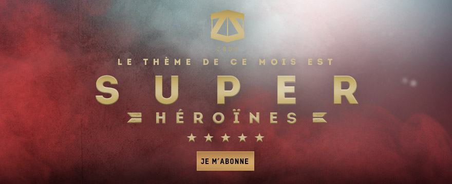 ZBOX SUPER-HEROINES