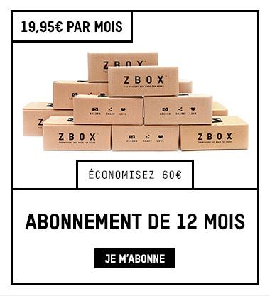 ABONNEMENT ZBOX 12 MOIS