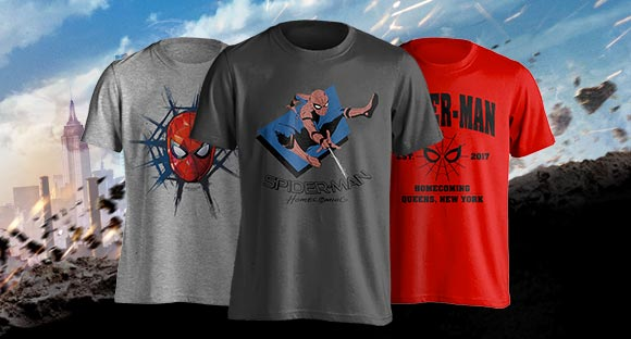 Spiderman-T-shirts