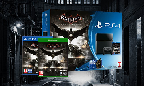 JEUX VIDÉO BATMAN<BR>PS4 & XBOX ONE