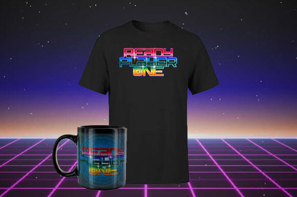 T-SHIRT & TASSE READY PLAYER ONE