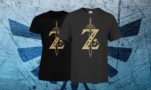T-SHIRT ZELDA MASTER SWORD = 10,99€
