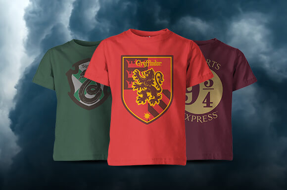 T-SHIRTS ENFANT HARRY POTTER