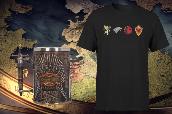 T-SHIRT + CHOPE DE BIÈRE <BR>GAME OF THRONES