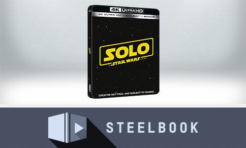 SOLO: A STAR WARS STORY - STEELBOOK 4K UHD ÉDITION LIMITÉE (INCLUT VERSION 2D)