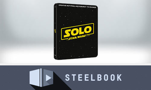 SOLO: A STAR WARS STORY - STEELBOOK BLU-RAY 3D ÉDITION LIMITÉE (INCLUT VERSION 2D)