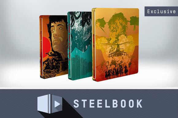 5€ de Réduction sur Steelbooks Rambo