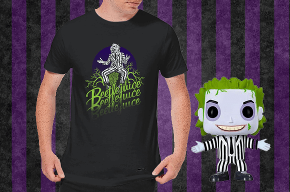 BEETLEJUICE T-SHIRT ET FIGURINE POP!