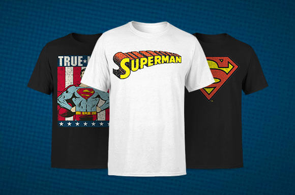 T-SHIRTS SUPERMAN