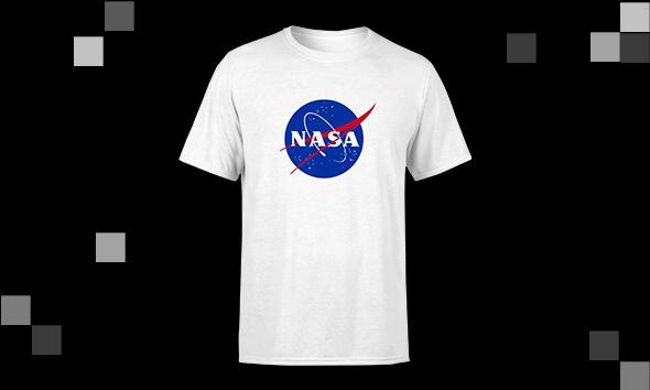 T-shirts NASA - 10.99€