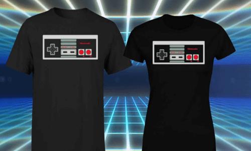 T-SHIRT NINTENDO NES = 10,99€