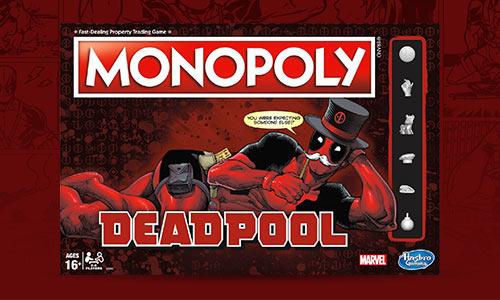 MONOPOLY - ÉDITION DEADPOOL
