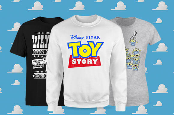 VÊTEMENTS TOY STORY