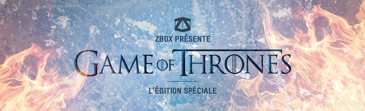 GAME OF THRONES SPECIAL BOX
