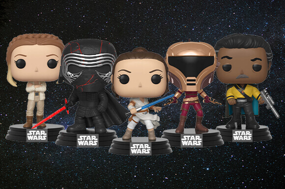 POP! VINYL STAR WARS:<br> L'ASCENSION DE SKYWALKER