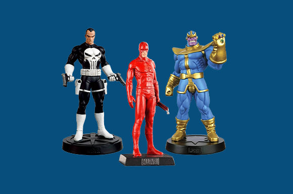 5 Action Figures For €34.99