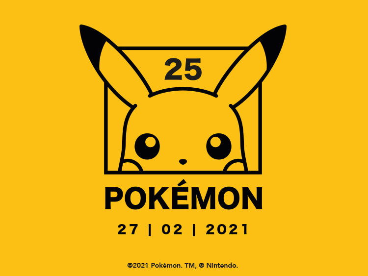 Pokemon 25th Anniversary  Main Banners